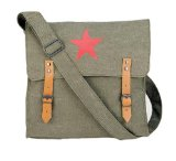 Classic Military Medic Bag w/Red China Star
