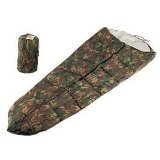 Woodland Camouflage Nylon Mummy Sleeping Bag * Not for Sale in CA, CT, DE, MI, IL, MD, MA