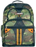 TrailMaker Green Camouflage Polyester School Backpack/ Outdoor Backpack/ Daypack