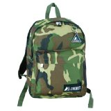 Everest Bags Classic Camouflage Backpack Camoflauge Daypacks