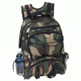 Extreme Pak Camouflage Camping Backpack