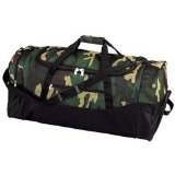 Large 30' Camouflage Luggage Duffle Tote Bag